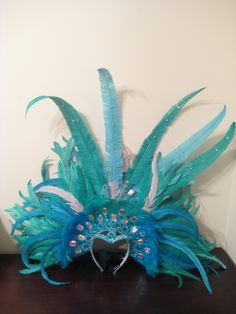 How to Make Carnival Headpieces | Displaying 17> Images For - Caribbean Carnival Headdresses...