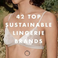 Sustainable Lingerie brands