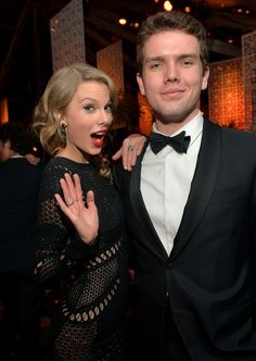 Taylor and Austin attend the Instyle Afterparty