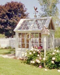Home Design: Backyard Greenhouses | Stranger Than Vintage