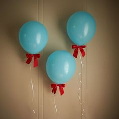 I love this trendy 1st birthday boy airplane party theme with balloons and bows. Perfect addition to the time flies party.