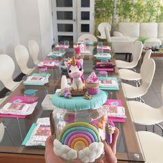 Todo listo para el taller de hoy! #porcelanafria #unicornio #manualidades #chile #santiagodechile #hechoenchile #cute #like #follow #perfect #polymerclay #love #kawaii #unicorn