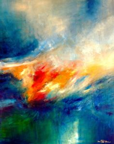 "Saatchi Art Artist Christian Bahr; Painting, ""UNTIL THE WIND WILL CHANGE"" #art"