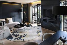 Terrace Suite Living Room at Mandarin Oriental, Barcelona by Mandarin Oriental Hotel Group, via Flickr