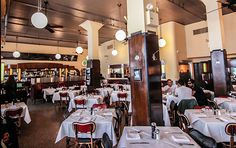 The dining area of Tribeca's Odeon (Photo: Odeon)