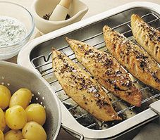 Mackerel with Dill Mayonnaise