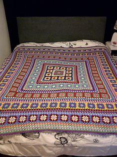 Patroon voor de Wendy Blanket