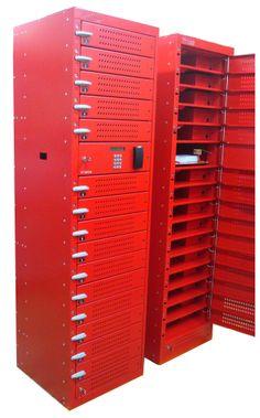 Red #Laptop Lockers