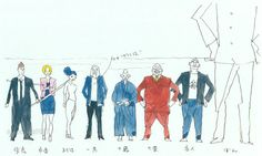 artbooksnat:  Kemonozume (ケモノヅメ) character concept art illustrated by Masaaki Yuasa (湯浅政明) inMasaaki Yuasa's Sketchbook for Animation Projects(Amazon US|JP).