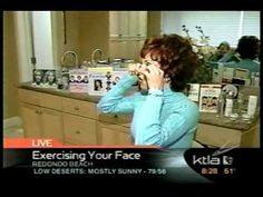 Face exercise on KTLA Morning News - Part 2 - YouTube