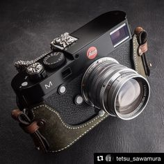 Look at this!! Amazing Tetsu Sawamura's Leica (^_-)-☆He is a one of the most populer old lens expert photographer and au