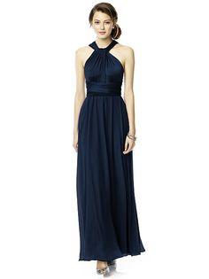Twist Wrap Dress w/ Chiffon Overskirt: Long http://www.dessy.com/accessories/twist-dress-chiffon-overskirt-long/#.VKSUKSvF-So