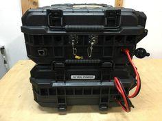 IMG_1287 Portable Ham Radio, Ham Radio Equipment, Marine Grade Plywood, Computer Fan, Pelican Case, Power Cable, Tool Cart, Radios, Hacks