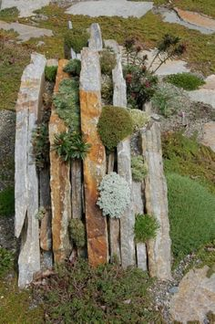 Examine this essential image and also have a look at the offered suggestions on Hillside Landscaping Ideas Hillside Landscaping, Landscaping With Rocks, Landscaping Ideas, Small Gardens, Outdoor Gardens, Landscape Design, Garden Design, Slate Garden, Hampton Garden