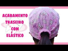 Touca Cirúrgica Unissex Com Elástico No Acabamento - YouTube Scrubs Pattern, Scrub Hat Patterns, Stylish Scrubs, Crochet Mask, Surgical Caps, Hair Cover, Designs For Dresses, Scrub Caps, Hat Making