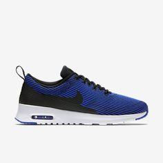 Nike-Wmns-Air-Max-Thea-Jacquard-718646-006-Black-Racer-Blue-1-90-95-Womens-Shoe