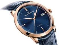Pre Baselworld 2014: Introducing the Girard-Perregaux 1966 in Pink Gold with Deep Blue Dial - Monochrome Watches