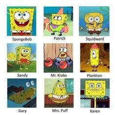 Portrayed by SpongeBob