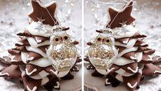 Výborné perníčky se skořicí a zázvorem. Tradiční vánoční cukroví, které na svátečním stole nesmí chybět. Z hvězdiček si můžete postavit i stromeček.