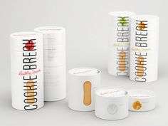 Check out this complex packaging design for a healthy complex snack-set with a multi tiered, stack of cookies, natural yogurt and homemade jam (kiwi, cherry or orange) by British Design Higher School of Art and Design students, Moscow.