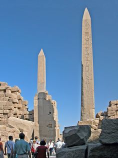 Egypt-3B-006 - Obelisks | Flickr - Photo Sharing!