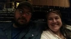Selfie at the Penn and Teller show..