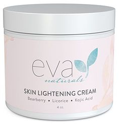 Skin Lightening Cream by Eva Naturals (4 oz) - Hyperpigmentation Cream for Dark Spots on Face and Neck - Helps Boost Collagen Production and Brighten Complexion - With Bearberry, Licorice, Kojic Acid - http://alternative-health.kindle-free-books.com/skin-lightening-cream-by-eva-naturals-4-oz-hyperpigmentation-cream-for-dark-spots-on-face-and-neck-helps-boost-collagen-production-and-brighten-complexion-with-bearberry-licorice-kojic-acid/