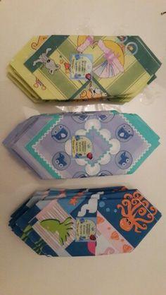 Colourful napkins