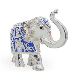 Royal Blue Elephant 6 Inch http://www.thedivineluxury.com/product/Royal-Blue-Elephant-6-Inch.html A master showpiece in the form of elephant.