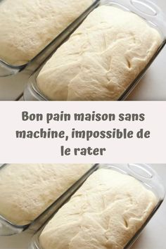 Bon pain maison sans machine, impossible de le rater – Page 2 – Toutes recet… – Basic Homemade Bread Recipe – The healthiest bread to make? Beignets, Deutsche Desserts, Cake Factory, Healthy Crockpot Recipes, Quick Easy Meals, Bread Recipes, Bakery, Brunch, Food And Drink