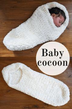 26 ideas crochet baby cocoon pattern free yarns for 2019 Baby Patterns, Knitting Patterns Free, Baby Knitting, Blanket Patterns, Häkelanleitung Baby, Baby Kind, Crochet Baby Cocoon Pattern, Baby Blanket Crochet, Crochet Simple