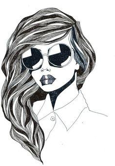 #BeautyIllustration #Illustration #WhimsicalWednesdays #BMynroeEmbodied