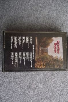 Country Bound Various Artists Cassette If Loving You Is Wrong Stranger Heart