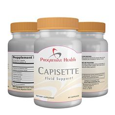 Capisette: Natural Edema Supplement For Swelling in the Ankles, Legs, Feet, Calfs and Hands. Vitamins Include: Ginkgo Biloba, Horse Chestnut, Dandelion Root, Uva Ursi and Hawthorn Berry. Diuretic for Water and Fluid Retention in the Body