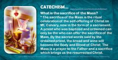 What is the sacrifice of the Mass?