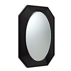 "Kallista: Tuxedo by Barbara Barry Mirror: P73040-00 Powder Room Mirror 27""W x 35"" T"