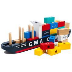 Vilac Container Ship Puzzle