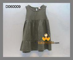 D060009  Dress warna  Ukuran : >4 :panjang 48cm,lebar dada 28cm >5 :panjang 50cm,lebar dada 29cm   IDR 35*
