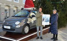 Margit hätte den Fiat 500 Hybrid am liebsten selbst! Fiat 500, Canada Goose Jackets, Winter Jackets, Fashion, Winter Coats, Moda, Winter Vest Outfits, Fashion Styles, Fashion Illustrations
