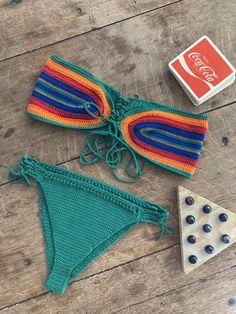 Bralette Pattern, Crotchet, Crochet Clothes, Fiber Art, Crochet Bikini, Crocheting, Bathing Suits, Macrame, Crochet Patterns