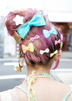 Fairy Kei Hair.