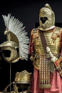 Roman equestrian armour.