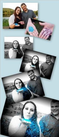 Cute Gender Reveal Idea!  Come into Stork 4D Imaging Studio for a gender session ONLY $39!!!!! www.storksnapshots.com