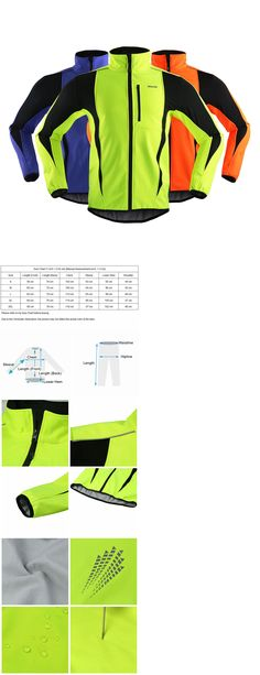 Jackets 36124: Men S Warm Thermal Fleece Coat Windproof Sports Cycling Clothing Jersey Jacket -> BUY IT NOW ONLY: $30.38 on eBay!