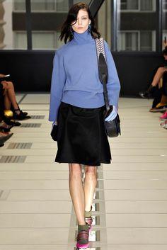 Balenciaga Fall 2012 Ready-to-Wear Fashion Show - Kati Nescher (Viva)