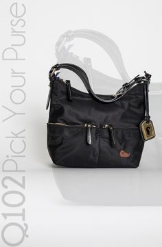 Dooney & Bourke - Small Zipper Pocket Sac in Black. Go to wkrq.com to find out how to play Q102's Pick Your Purse!