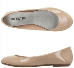 Nude flats from Payless... really want some. Super cute and versatile.