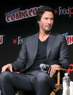 Keanu Reeves at Comic Con New York