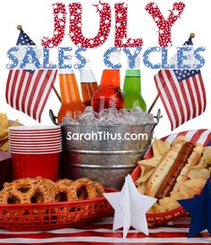 July Sales Cycle: What to Expect to See on Sale - Sarah Titus