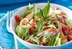 Salade de tourteau au basilic thaïDécouvrez la recette de la salade de tourteau au basilic thaï